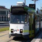 3 minutes walk to tram