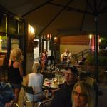 The Outdoor Patio with Live Music