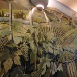 Tuscan wall frieze