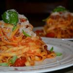 Pasta Alle Felice - dinner on arrival (prior booking only)