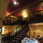 Restaurant inside the Old Mill