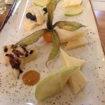 Cheese plate perfect after a great lunch
