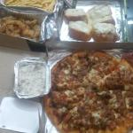 MOZZARELLA BREAD-garlic bread with cheese,5pc rs100, FRENCH FRIES-rs100,CRUNCHY CHICKEN STRIPS r
