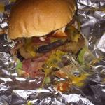 The outbacker burger (takeaway)