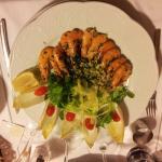 Crevettes sautées persillées