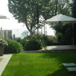 hotel side garden