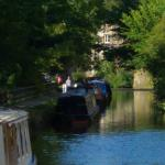 The Canal outside our door