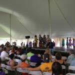 Iroquois Social Dancers at Native American Dance & Music Festival