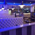 The sea fish and chips restaurant Blackpool