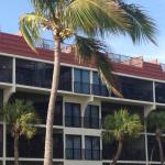 Picture of building A from beach.