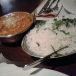 Madras Curry and Rice.