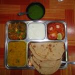 Indian Touch 1 Veggie Thali
