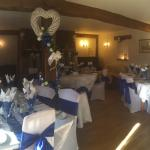 Now available for bijoux wedding receptions up to 20 persons