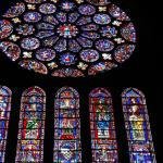 Chartres, stained glass