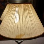Broken lampshade
