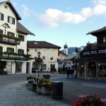 a photo from Oberammergau, close to the hotel Zur Rose