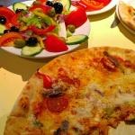 Fantastic pizza, freshly cut generous salads and great value!