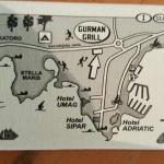 """Nuovo indirizzo è """"piantina"""" utile."""