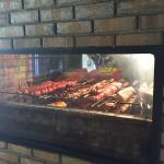 Charcoal grilled meats are very flavorful! The buffet also had very tasty fruit, salads, sides,