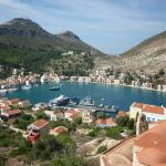 View of Kastellorizo from Castle