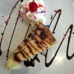 deep fried cheesecake.