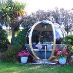 Pod in the garden