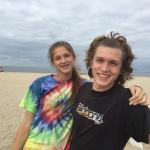 Happy teens at the beach!