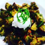 Paleo Fried green potatoes!