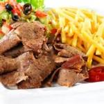 Kebab servi
