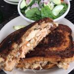 Smoked Trout Reuben Sandwich