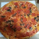 San Biagio's Mushroom & Pepperoni