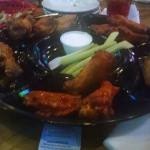 25 wing platter sampler!