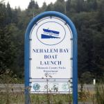 Nehalan River Boat Launch, Nehalan, Oregon