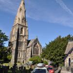 Church next to Gables