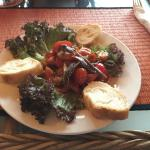 Tomato and Anchovy Tapa
