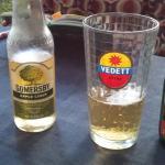 somersby cider + Vedet white