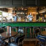 The bar at London House