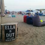Ella n Dut bar is where we are