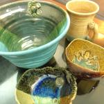 Local hand made ceramic from the craft complex - RM120 in total