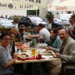 Para comer en el barrio judío de Cracovia