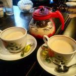 чаек со специями