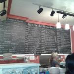 BIG Wall Menu