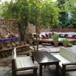 Remzi's restaurant secret garden. Heaven!