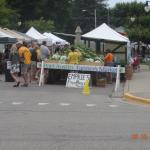 Farmer's Market in Port Austin on Saturday Morning