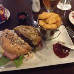 beautiful bacon and cheeseburger chunky fries