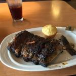 St. Louis Ribs-half rack & corn bread muffin