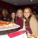 try the Roma pizza!