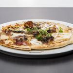 Proscuitto and Goats Cheese Pizza Bread