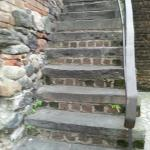 Historic Steps-- watch you step!