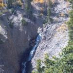 waterfall and beautiful fall